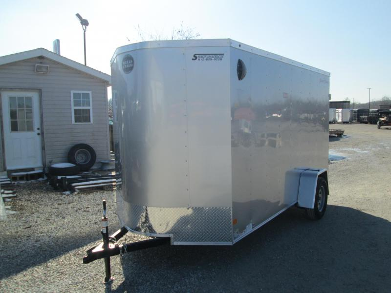 2020 6'x12' Wells Cargo Fast Trac Enclosed with rear double doors. 00346