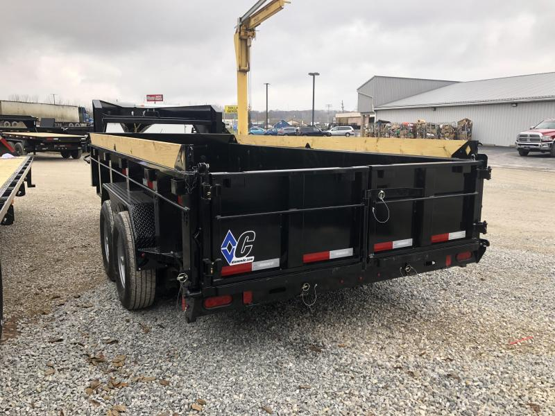2020 16x82 14.9K Diamond C Dump Trailer. 21109