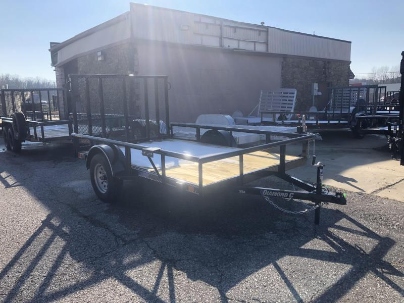 2020 10x77 Diamond C Utility Trailer. 22026