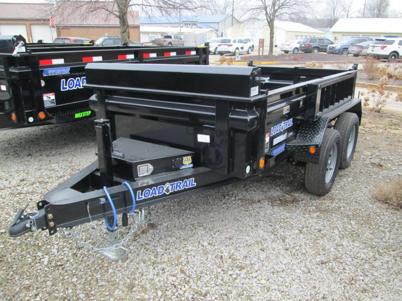 "2020 5'x10"" Load Trail 7K GVWR Dump With LARGE SCISSOR LIFT HOIST"