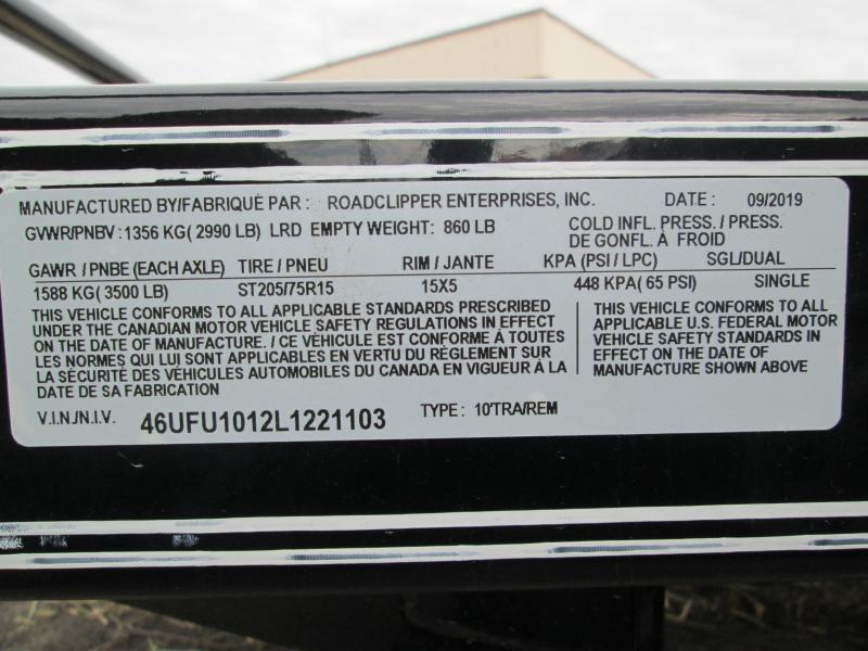 2020 10x60 Diamond C Utility Trailer. 21103