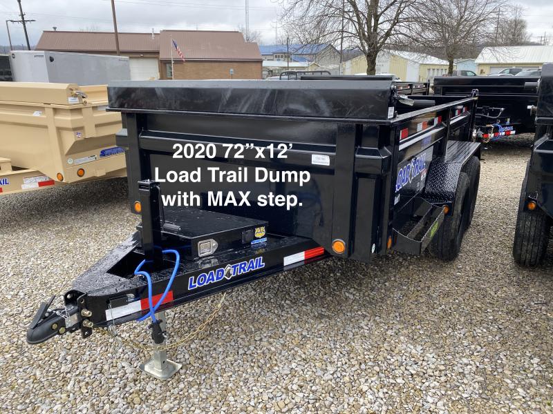 2020 72x12 10K Load Trail Dump Trailer. 99180