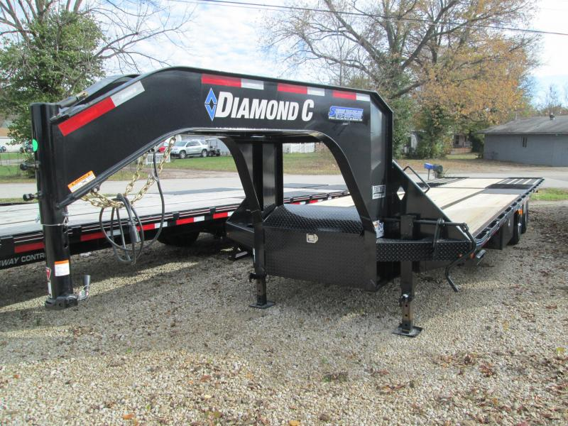 2020 FMAX 210 30' Hydraulic Dove 25K Diamond C Engineered Beam Gooseneck  Trailer. 19954
