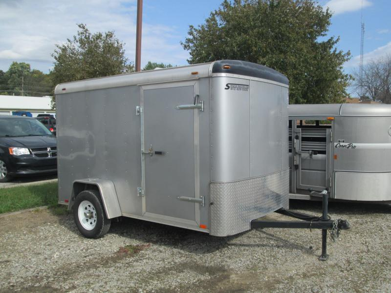 2017 Atlas Specialty Trailers AU610SA Enclosed Cargo Trailer