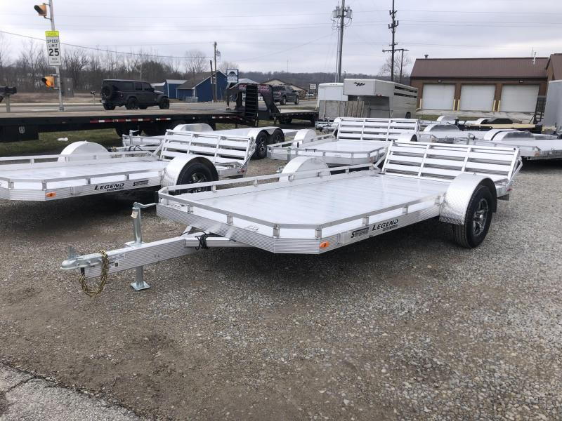 2020 7'x14' Legend Aluminum Utility with ramp gate. 17895