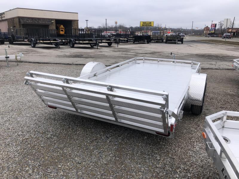 2020 7'x14' Legend Aluminum Utility with ramp gate. 17895