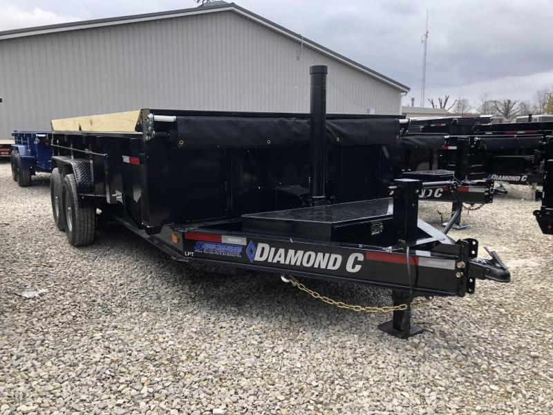 2020 14x82 14.9K Diamond C LPT Dump Trailer. 24434