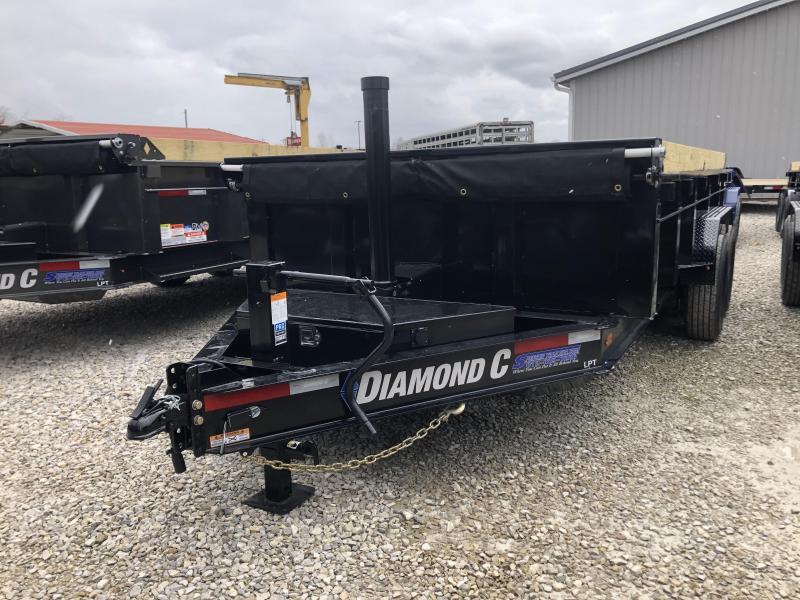 2020 14x82 14.9K Diamond C LPT Dump Trailer. 24434