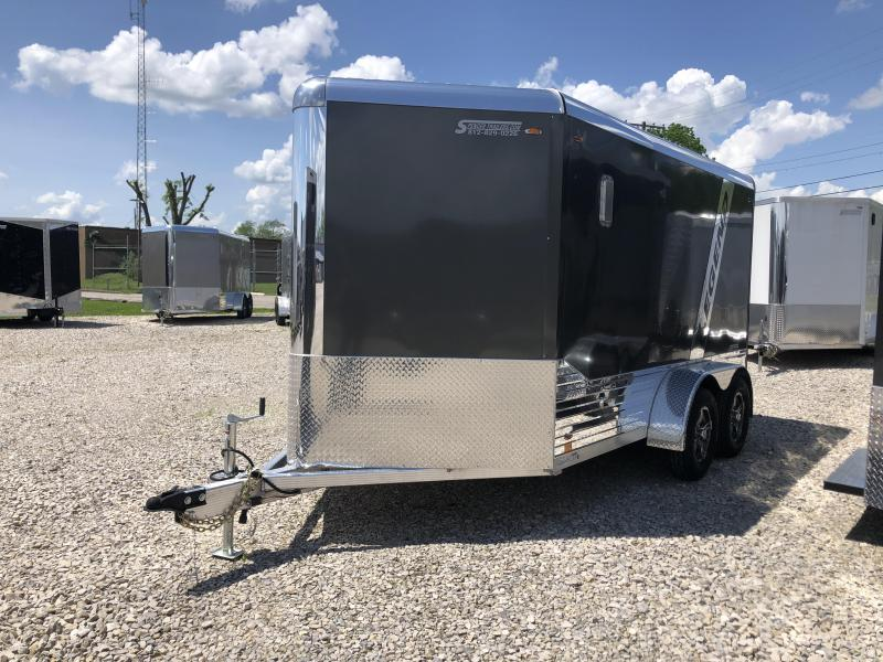 2020 7x12+V-Nose 7K Legend Trailers DVN Enclosed Trailer. 17783
