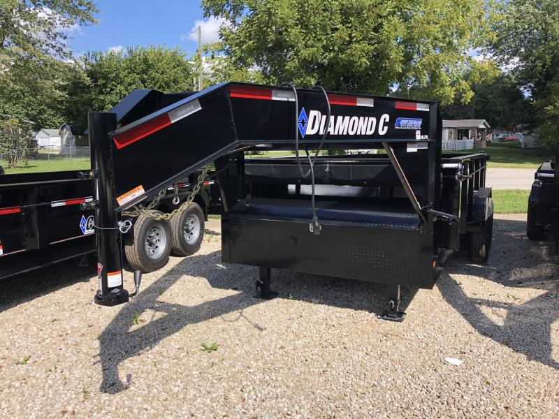 2019 14x82 14K Diamond C GN Dump Trailer. 5307