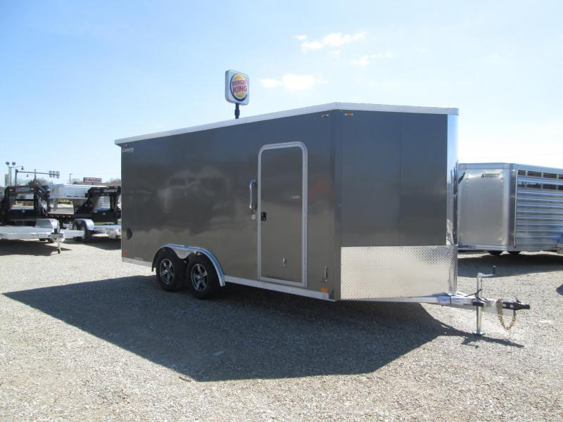 2020 Legend Manufacturing Flat Top V-Nose Enclosed Cargo Trailer