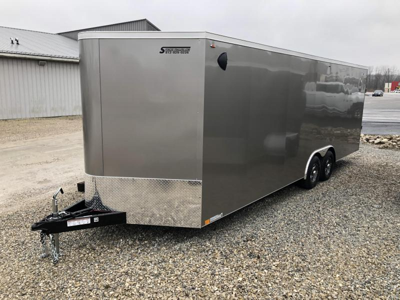 2020 24'+2'V-Nosex8.5' 10K Legend Cyclone Enclosed Trailer