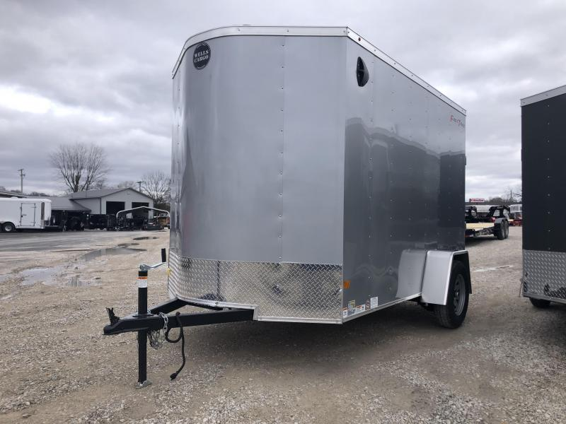 2020 6x12 Wells Cargo FT612 Enclosed Cargo Trailer. 00880