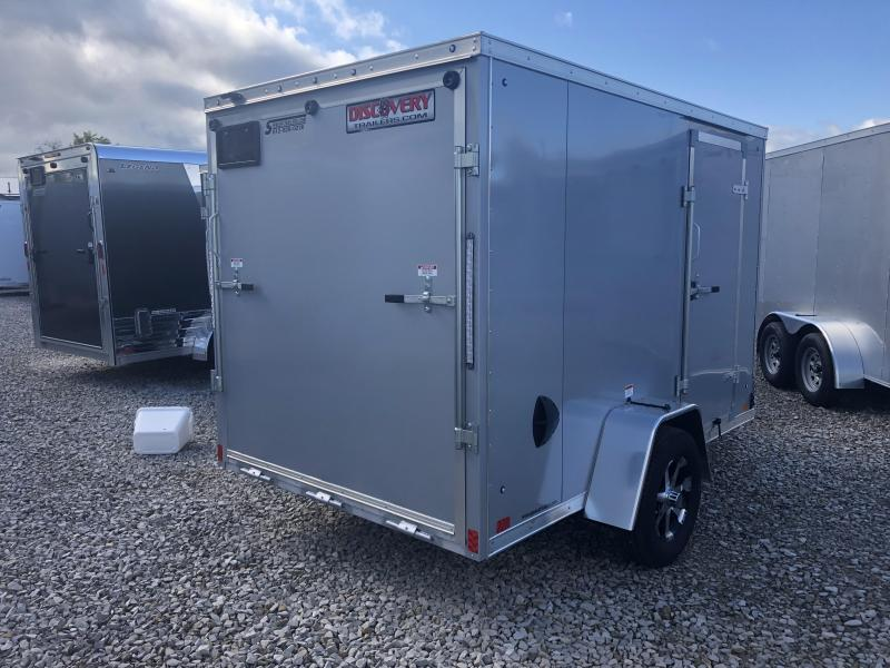 2020 6x10 Discovery Enclosed Trailer. 06090