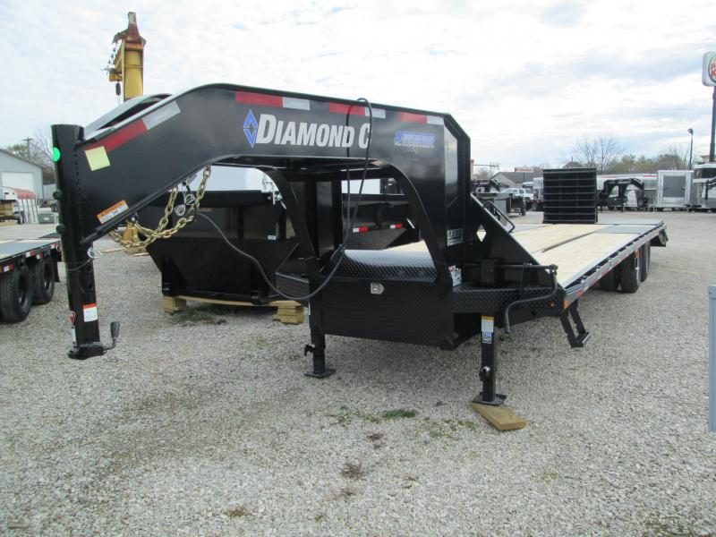 2020 25+5 MR Diamond C Trailers  FMAX210 Engineered Beam Gooseneck Trailer