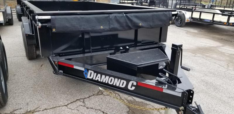 2020 14x82 14.9K Diamond C Dump Trailer. 22488