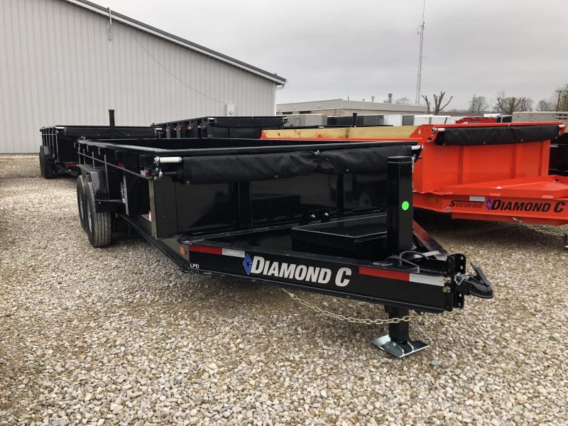2020 16x82 14.9K Diamond C LPD Dump Trailer. 24788