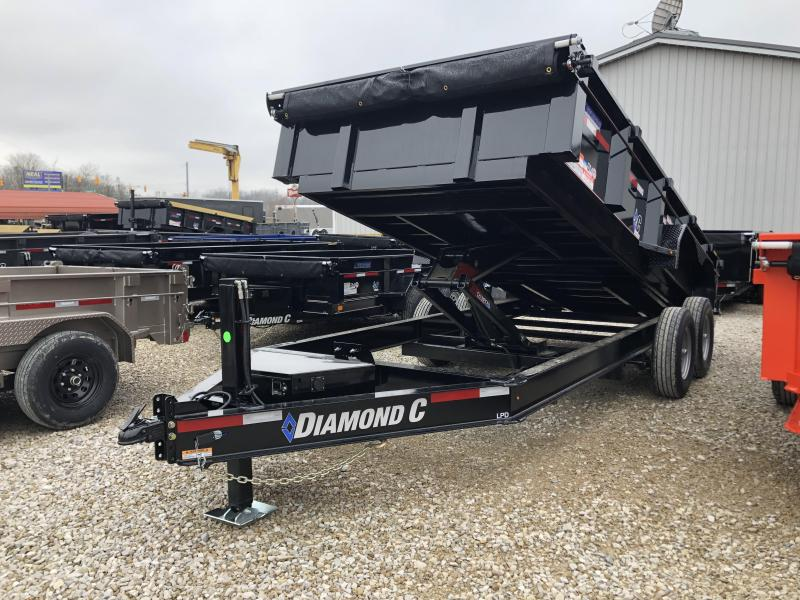 2020 16x82 14.9K Diamond C LPD Dump Trailer. 24788