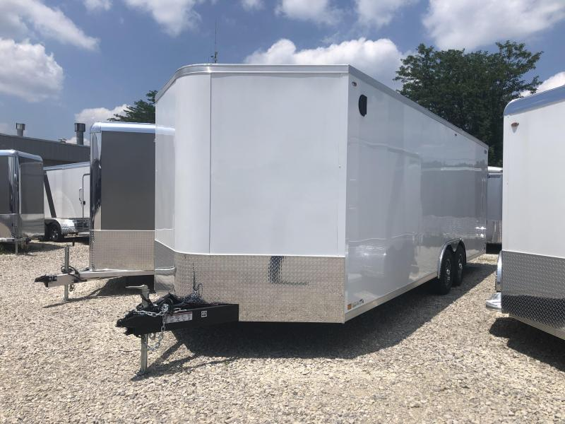 2020 LEGEND STV Cyclone 8.5x24 plus V-nose Car Hauler 17821