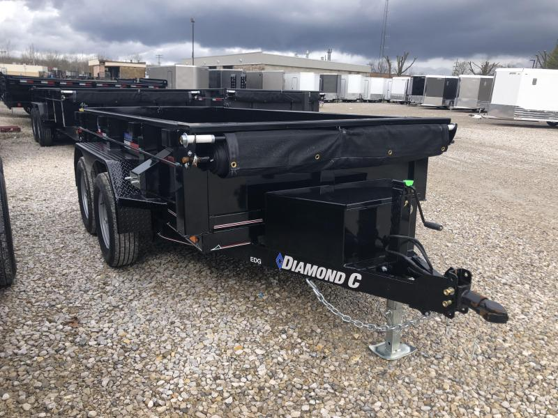 2020 10x60 7K Diamond C Dump Trailer. 25748