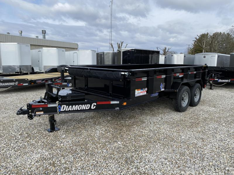 2020 14x82 Diamond C LPD Dump Trailer. 25404