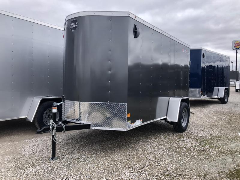 2020 5x10 Wells Cargo FT510 Enclosed Cargo Trailer. 00878
