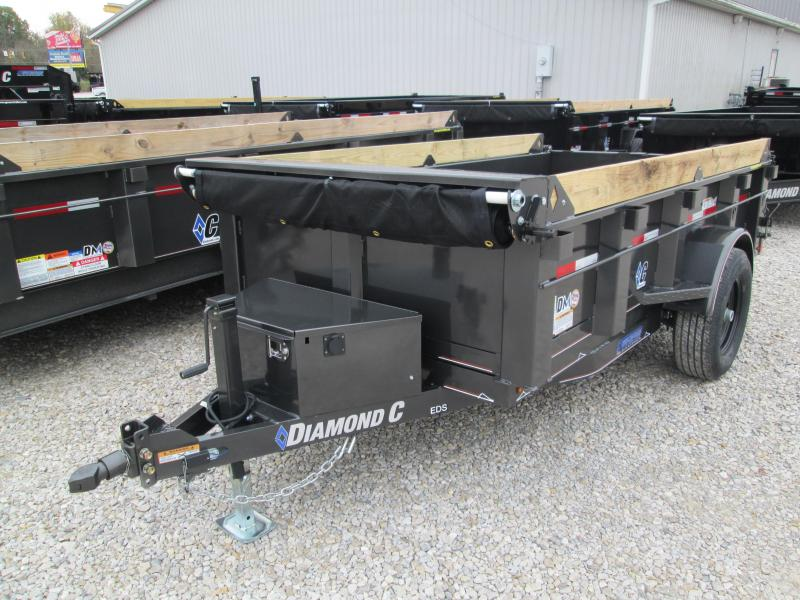 2020 10x60 5K Diamond C Dump Trailer. 21034