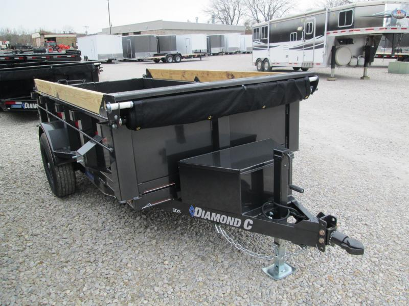 2020 10x60 5K Diamond C Dump Trailer. 21034