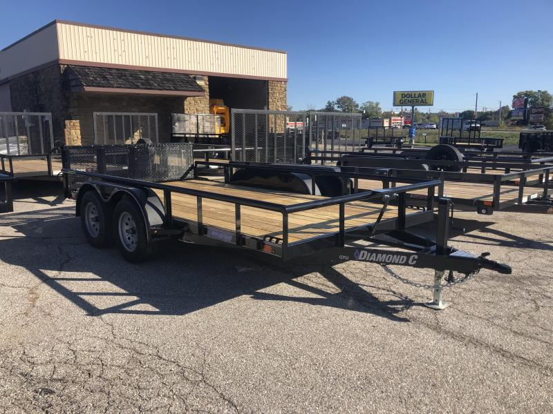 2020 14x83 Diamond C Utility Trailer. 20140