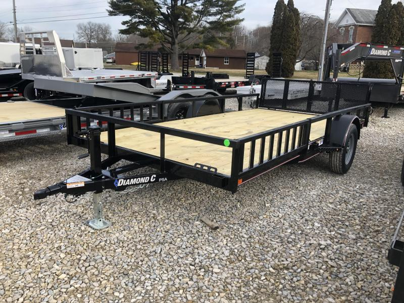 2020 14x83 Diamond C PSA Utility Trailer. 24700