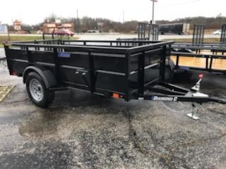 2020 5'x10' Diamond C Solid Side Utility. 20925