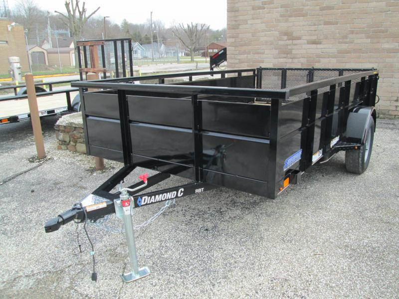2020 12x77 Diamond C RBT Utility Trailer. 22996