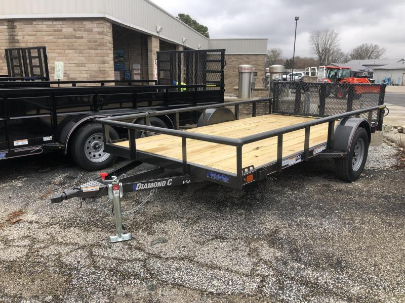 2020 12x77 Diamond C Utility Trailer. 20739