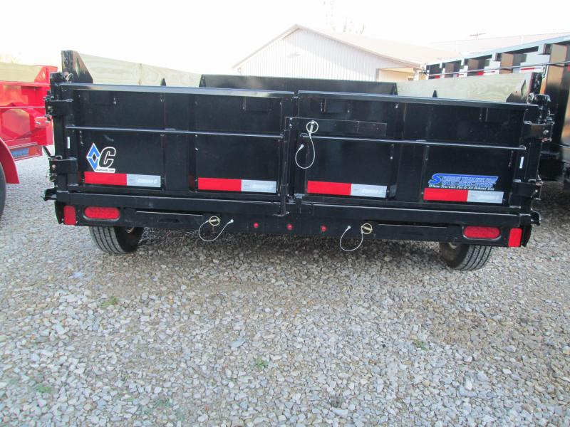 2020 10x77 7K Diamond C Dump Trailer. 22046