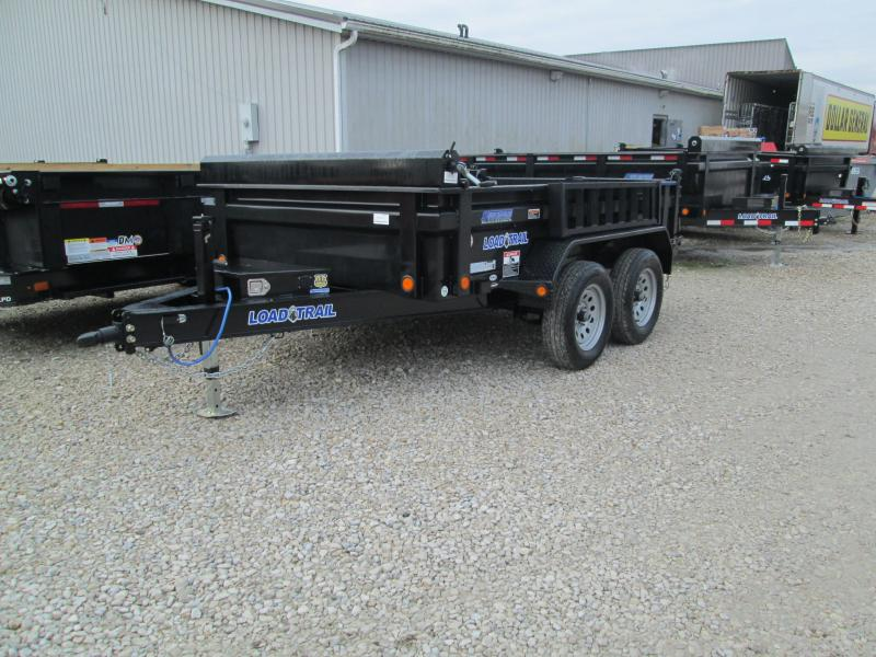 "2020 72""x10' Tandem Axle Dump 7K GVWR w/6 Inch I-Beam Frame"