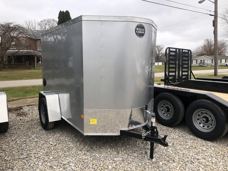 2020 5'x8' Wells Cargo Fast Trac Enclosed. 00349