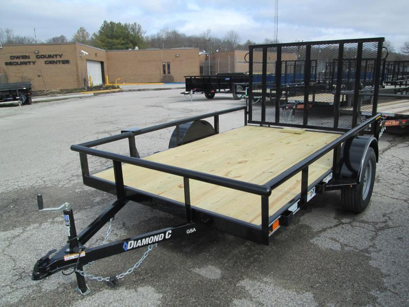 2020 10x77 GSA Diamond C Utility Trailer. 23434