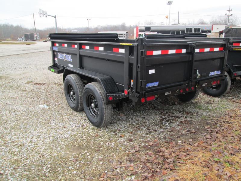 Load Trail DT14 - Tandem Axle Dump 14,000 Lb w/8″ I-Beam Frame