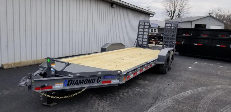 "2020 18'+2'x82"" 14.9K Diamond C Equipment Trailer. 21844"