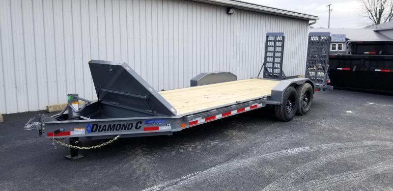 "2020 18'+2'x82"" 14.9K Diamond C Equipment Trailer. 21844"