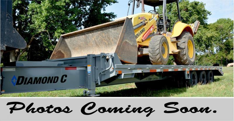 """2020 FMAX 207HD 18'+12'x102"""" 15.5K Diamond C Engineered Beam Equipment Trailer. 22803"""