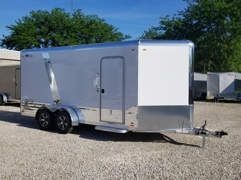 2020 LEGEND DVN  7x16 Plus V-nose Aluminum Enclosed Cargo Trailer