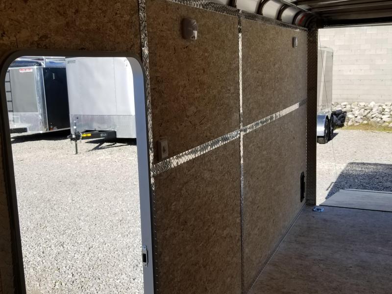 7' TALL! UTV READY! 2020 LEGEND DVN  7x16 Plus V-nose Aluminum Trailer