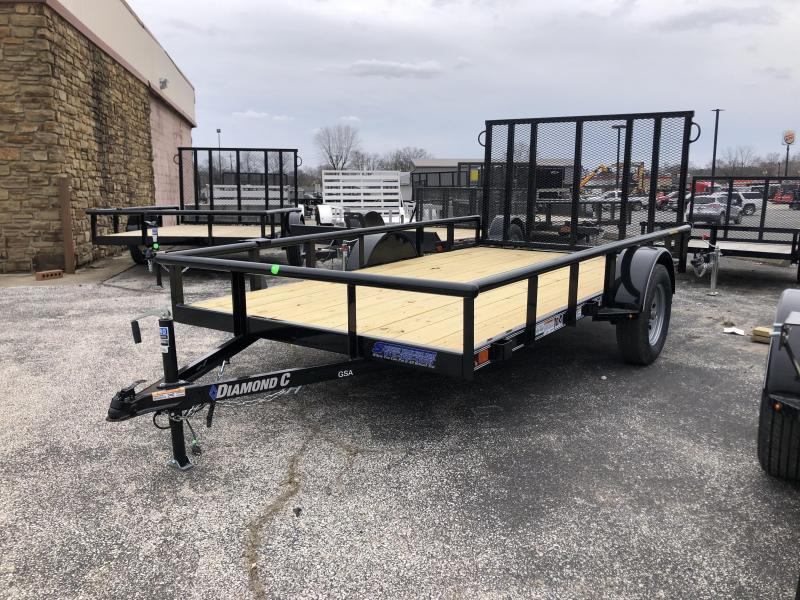 2020 12x77 Diamond C GSA135 Utility Trailer. 26177
