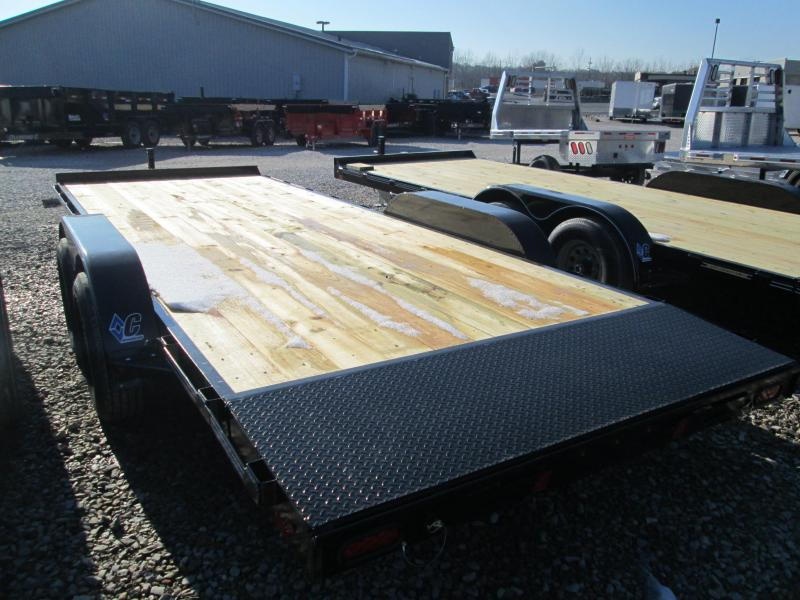 "2020 18'+2'x82"" 9.8K Diamond C  Car Hauler Trailer. 21802"