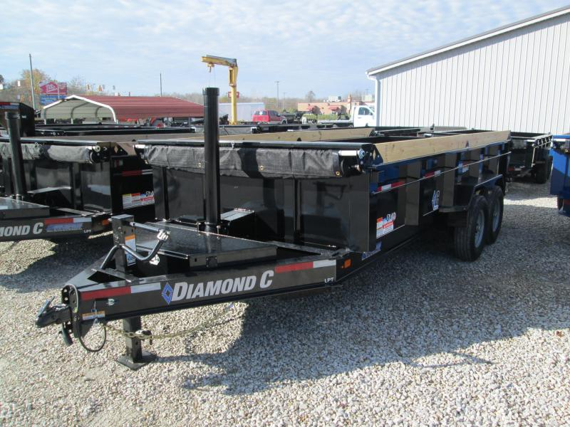 2020 16x82 14.9K Diamond C Dump Trailer. 21106