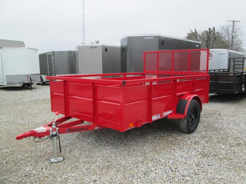 2020 10x77 Diamond C RBT Utility Trailer. 24804
