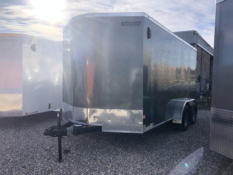 "16"" OC WALLS AND FLOOR! 2020 7x14 7K Wells Cargo Enclosed Trailer."