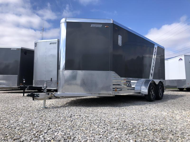 2020 7x14+V-Nose 7k Legend DVN Enclosed Trailer. 17974