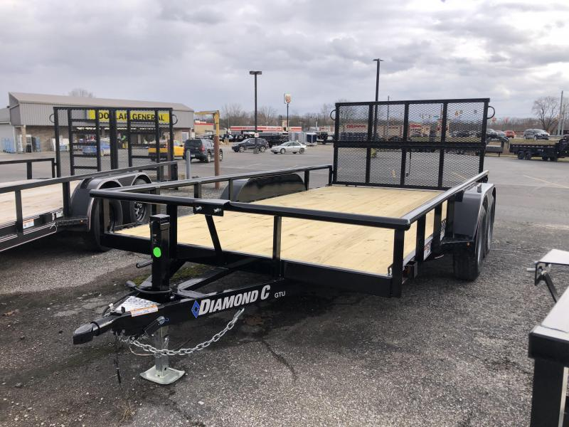 2020 14x83 Diamond C GTU Utility Trailer. 25304